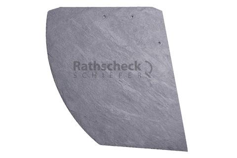 Rathscheck Schiefer Deckung 39 cm stumpfer Hieb rechts InterSin sortiert behandelt und gelocht Schiefergrube 120