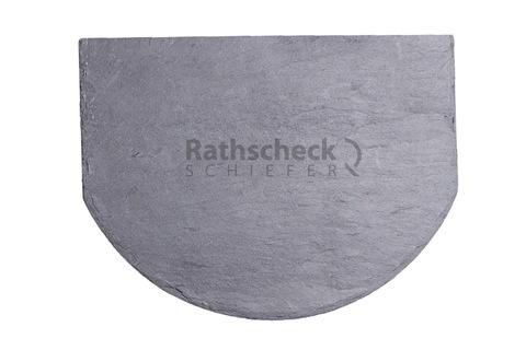 Rathscheck Schiefer Fischschuppen 20x15 cm InterSin ungelocht Grube 150