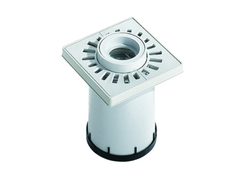 Dallmer Aufsatz KR10 100x100 mm Kunststoffrahmen, Kunststoffrost Kunststoff