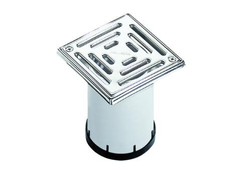 Dallmer Aufsatz SEN10 150x150 mm Edelstahlrahmen, Edelstahlrost Kunststoff