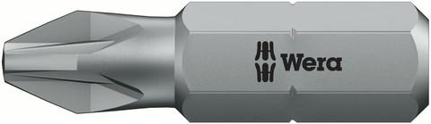 WER Bit PZ2 25mm 855/1 Z Pozidriv Standard 10St/Pk