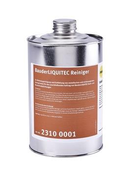 Bauder Liquitec Reiniger 1 l in Metallflasche Farblos