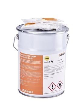 Bauder Liquitec PMMA Grundierung 5 kg Detail, Metalleimer, inkl. 2 x Katalysatator Farblos