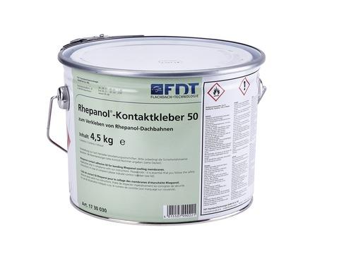 FDT Rhepanol Kleber-50 4,5 kg für FK+H+HG-Bahnen Verbrauch 500 g / m2