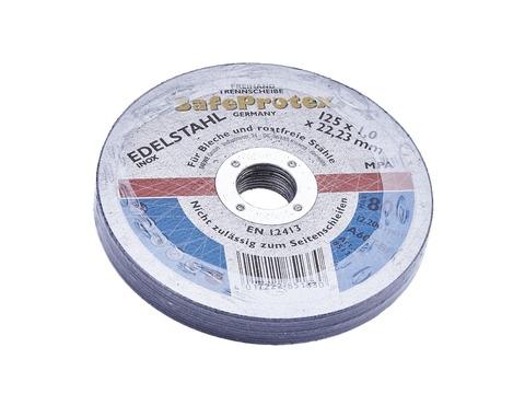 DIEWE Trennscheibe 125 mm Edelstahl Bohrungsdurchmesser 22,23 mm