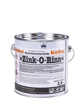 Kebulin Anstrich Zink-O-Rinn 2,50 L RAL 7035 Lichtgrau