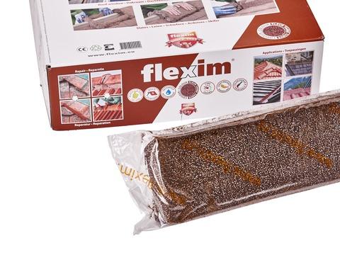 allform Dachmörtel Flexim ca. 20 l 10 Einzelstreifen/Karton Dunkelbraun