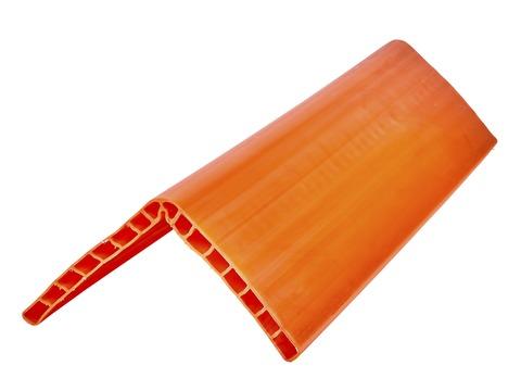 Dolezych Kantenschutzschiene 0,8 m 190x190x 19 mm Kunststoff Orange