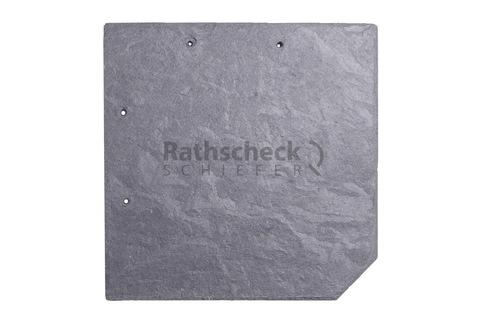 Rathscheck Schiefer Wabendeckung 20x20 cm InterSin gelocht Grube 120