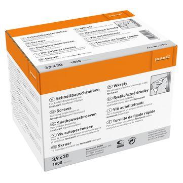 Fermacell Fermacell Schrauben 3,9x30mm 1000 Stück im Paket, für Gipsfaserplatte