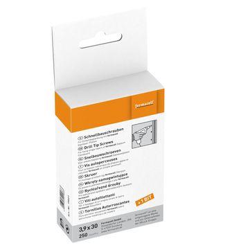 Fermacell Fermacell Schrauben 3,9x30mm 250 Stück im Paket, für Gipsfaserplatte