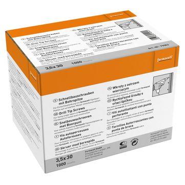 Fermacell Fermacell Schrauben 3,5x30mm 1000 Stück im Paket, für Gipsfaserplatte