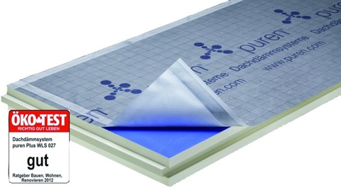 puren Dämmplatte Plus 140 mm breit Nut/Feder 2400x1020 mm kaschiert WLS 026