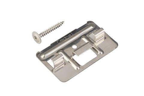 Eternit Cedral Click Klammer mit Schraube 250 Stück Blank