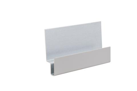 Eternit Cedral Click Sturzprofil C05 4042302 Alu 24x8x8x13x41x3000 mm Grau