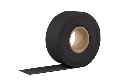 Eternit Fugenband 70 mm 20 m EPDM für Verlegung ohne Tafelüberdeckung Schwarz