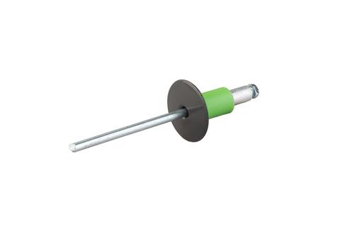 Eternit Uni-Niet Alu 4x18 mm TE10 250 Stück 15 mm Kopf Beige