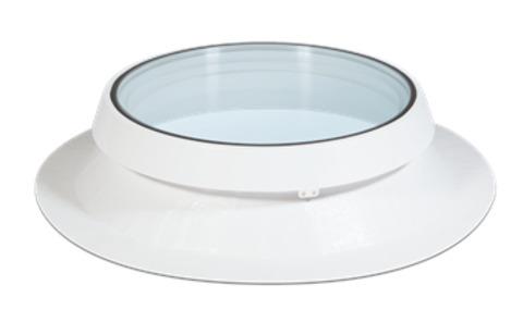 ESSERTEC Essertop 5000 2-schalig rund DN 90 Flachdachfenster Float-VSG