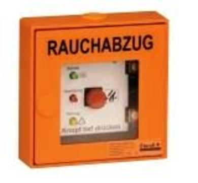 ESSERTEC fumilux 24-J10 RWA-Taster HSE Typ 6 Auf/Zu/Rest IP 30 Orange