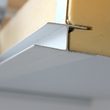 Linzmeier Fugenprofil H PVC 6000 mm Grauweiß