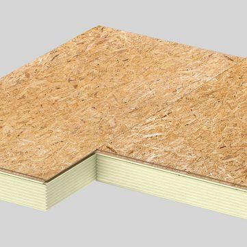 Linzmeier Linitherm P OSB 78mm 1200x600mm Dachbodenelement WLS 023