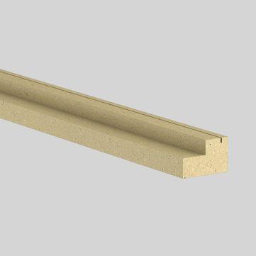 Linzmeier Dachfensterdämmzarge Velux 40/30 cm Litec 2440x110 mm