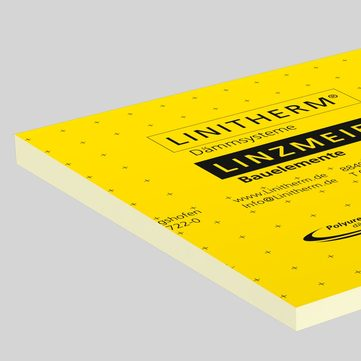 Linzmeier Linitherm PGV Gefälledach 55/ 80 mm 1200x1200 mm mit beidseitig Mineralvlies WLS 029