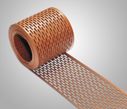 IVT Schutzgitter 100 mm 5,0 m Braun