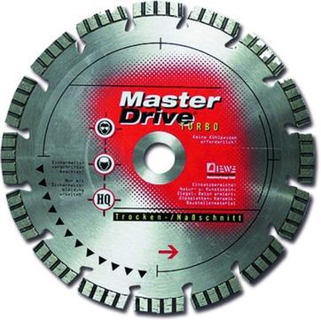 DIEWE Trennscheibe 115 mm MD-Turbo Master Drive Turbo, 22,23 mm Bohrer Diamanttrennscheiben