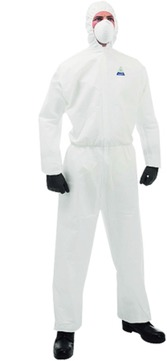 Hauser Overall mit Kapuze Gr. XXL Kleenguard-T65 XP Weiß