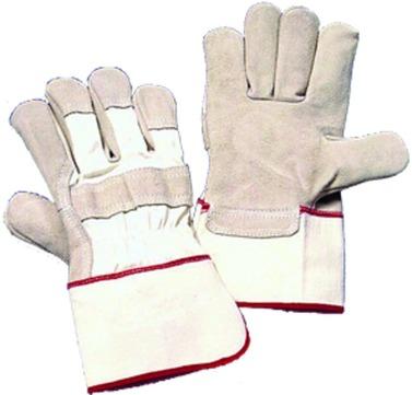 Hauser Handschuh 5NSG26 Gr.10 Schweinsnarbenleder geschlossen gefüttert, KAT2 Gelb