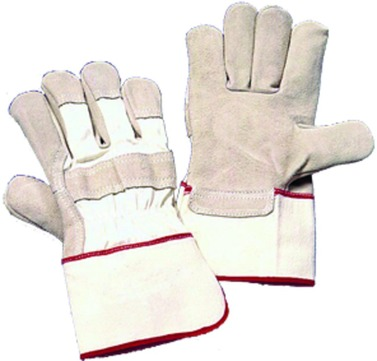 Hauser Handschuh 5NSG26 Gr. 10 Schweinsnarbenleder geschliffen gefüttert Kategorie 1