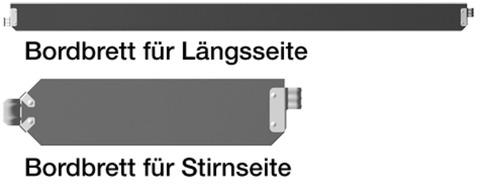 Layher Bordbrett für Fassadengerüst 2,57x0,15 m