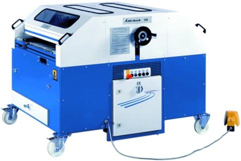 Schlebach Ausklinkmaschine EHA3 OW/BW elektro-hydraulisch mit Segmentspanner