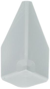 Schedetal ExtruPol Innenecke groß 90 Grad 170 mm Höhe Lichtgrau