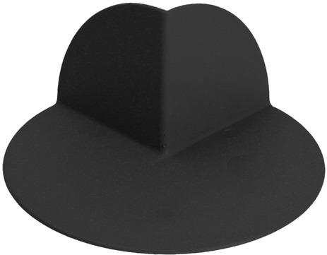 Schedetal ExtruBit Außenecke groß 270 Grad 170 mm Höhe Schwarz