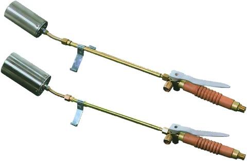 wfw Flämmgerät komplett ohne Schlauch Verlängerung 30 cm mit Federständer und Brennerkopf 55 mm