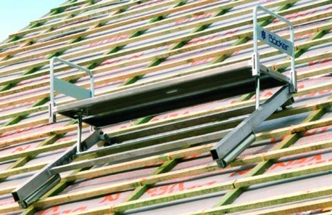 Böcker Dachziegelverteiler 2-fach verstellbar für Autokrane 152x135x21 cm 400 kg