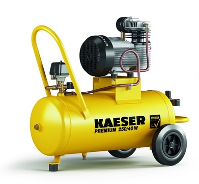 KAESER Kompressor Premium 450/40 450 l 40 l Behälter für Werkstatt