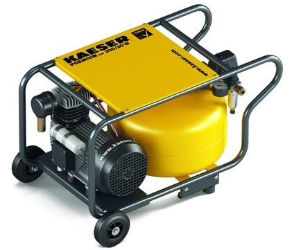 KAESER Kompressor Premium car 300/30 300 l 30 l Behälter für Baustelle