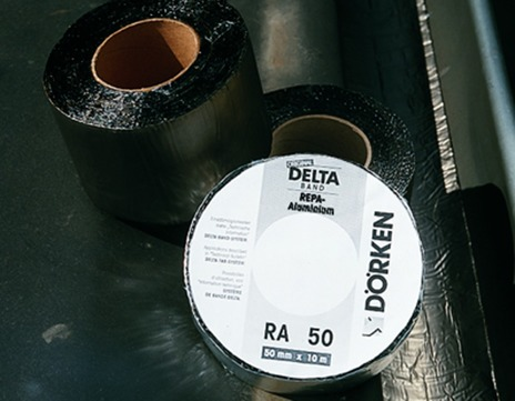 DÖR DELTA-Band 150mm/10m ALU