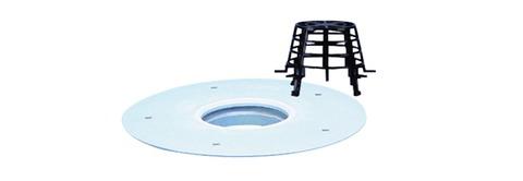ESSMANN Sanierungsgully senkrecht DN125 0505124 Scheibe aus Hart-PVC