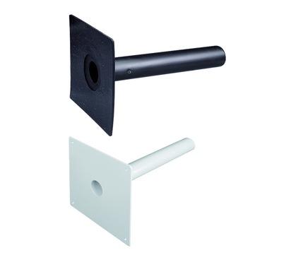 ESSMANN Notüberlauf Typ A DN100 mm mit geneigtem Rohr Länge = 480 mm Bitumen