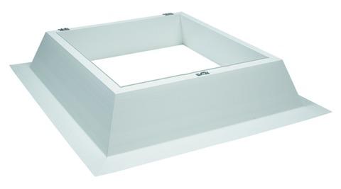 ESSMANN Aufsetzkranz 30 cm Ausführung I 80x80 cm Isolation PVC