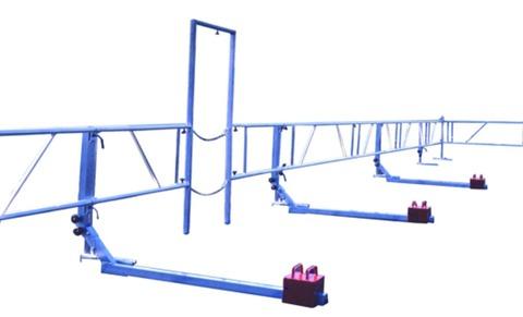 Grün Alufix Schutzsystem 25,2 m Grundausstattung mit 1 Ecke Alu