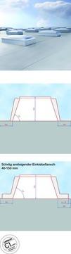LAMILUX Aufsetzkranz 30 cm 100x100 cm F100 wärmegedämmt GFK