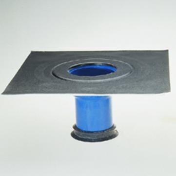 Grumbach Aufstockelement Balkongully wärmegedämmt Klebekragen 8 cm mit Rückstausicherung Bitumen
