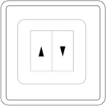 alwitra Lichtkuppel Lüftertaster auf Putz Typ 24