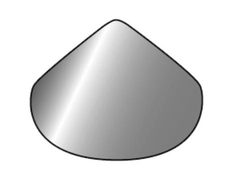 FDT Rhepanol Innenecke 90 Grad im Dichtrandsystem Schwarz