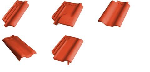 Laumans Tiefa XL/Tiefa 2000 Ortgang rechts Rot engobiert